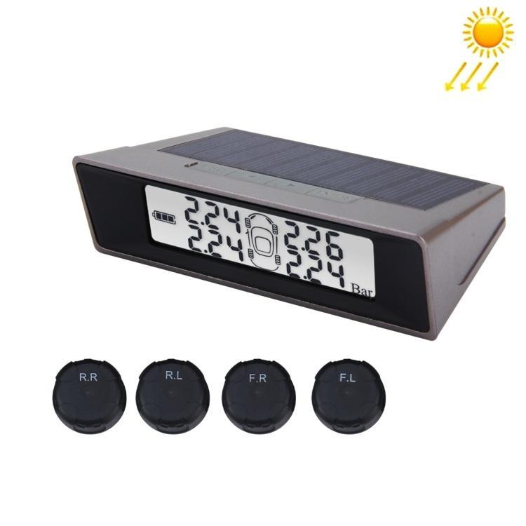 sistema kontrolja davlenija v shinah tpms datchiki 01 - Система контроля давления в шинах (TPMS-датчики) - солнечная батарея, сигнал тревоги, 4 датчика, контроль температуры
