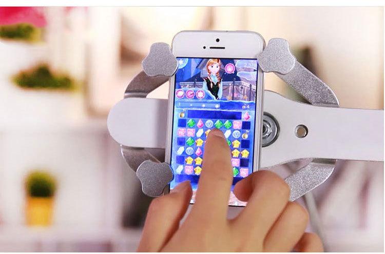 universalnyj gibkij derzhatel dlja smartfona plansheta lazypro 05 1 - Универсальный гибкий держатель для смартфона, планшета LazyPro (настольный, прикроватный)