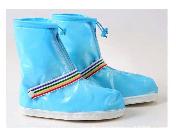 Водонепроницаемые складные сапоги для женщин (многоразовые чехлы-галоши на обувь) AntiRain