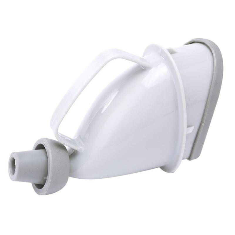 Портативный дорожный писсуар (туалет-лейка) для мужчин и женщин UniRina: многоразовый, прикручивается к бутылке, с держателем 118259