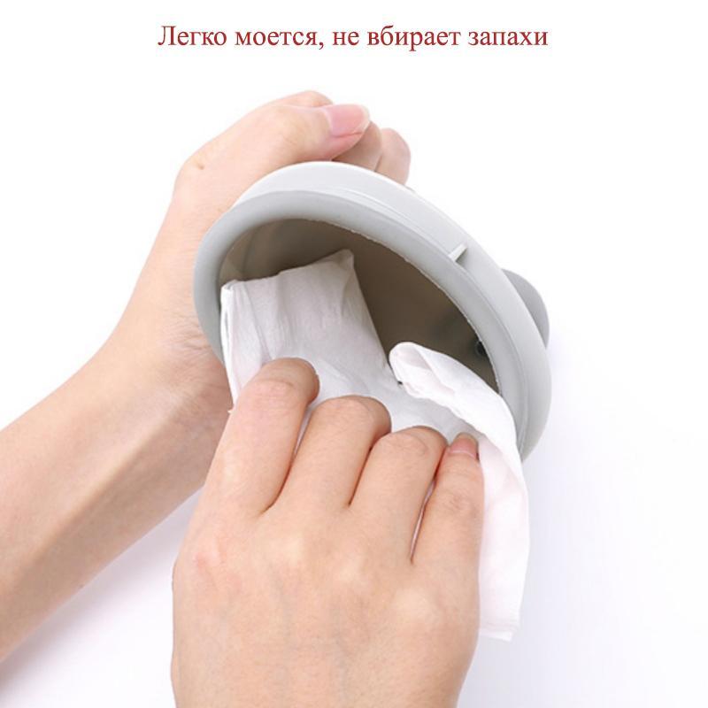 Портативный дорожный писсуар (туалет-лейка) для мужчин и женщин UniRina: многоразовый, прикручивается к бутылке, с держателем 118253