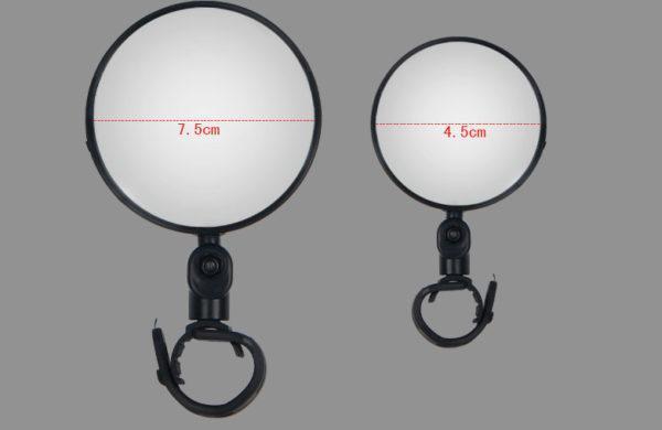 TB2O48MspXXXXcKXXXXXXXXXXXX 2261844724 - Зеркало заднего вида для велосипеда OQsport: крепление на руль 18-28 мм, 360° регулировка, диаметр 45 мм/75 мм, выпуклое