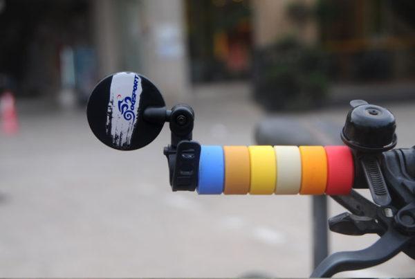 TB2jJ43spXXXXaYXXXXXXXXXXXX 2261844724 - Зеркало заднего вида для велосипеда OQsport: крепление на руль 18-28 мм, 360° регулировка, диаметр 45 мм/75 мм, выпуклое
