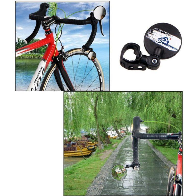 e15ebb47f790023d66bab5a0da57cb60eb6bdbab 1024 1024 - Зеркало заднего вида для велосипеда OQsport: крепление на руль 18-28 мм, 360° регулировка, диаметр 45 мм/75 мм, выпуклое