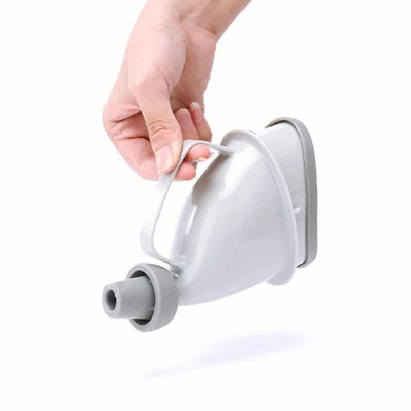 htb1kxeeeicybunksnavq6amsvxag - Портативный дорожный писсуар (туалет-лейка) для мужчин и женщин UniRina: многоразовый, прикручивается к бутылке, с держателем