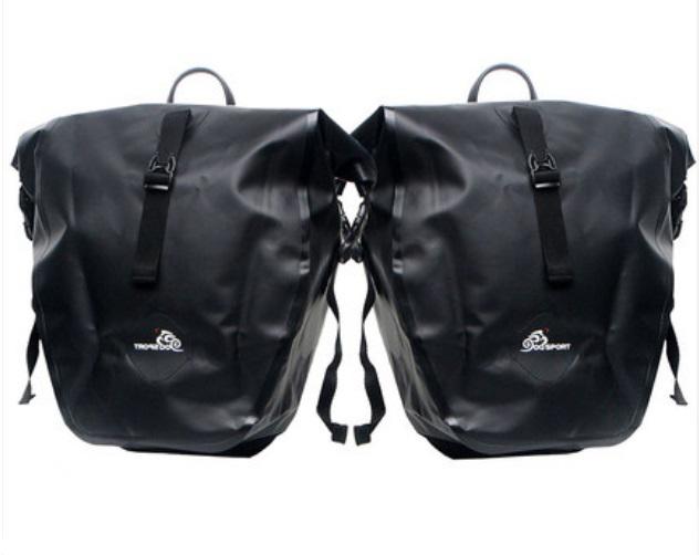 vodonepronicaemaja sumka shtany na bagazhnik velosipeda velobaul oqsport 04 - Водонепроницаемая сумка-штаны на багажник велосипеда (велобаул) OQsport: двойная и одинарная (25 л) модели, IPX5