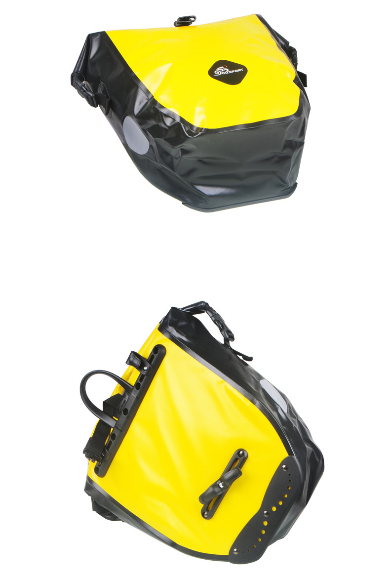 vodonepronicaemaja sumka shtany na bagazhnik velosipeda velobaul oqsport 10 - Водонепроницаемая сумка-штаны на багажник велосипеда (велобаул) OQsport: двойная и одинарная (25 л) модели, IPX5