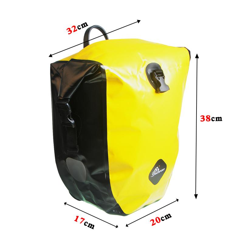 vodonepronicaemaja sumka shtany na bagazhnik velosipeda velobaul oqsport 13 - Водонепроницаемая сумка-штаны на багажник велосипеда (велобаул) OQsport: двойная и одинарная (25 л) модели, IPX5