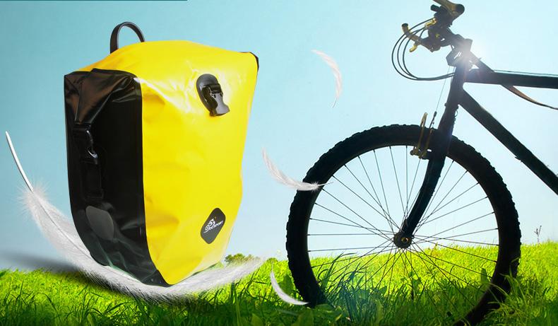 vodonepronicaemaja sumka shtany na bagazhnik velosipeda velobaul oqsport 16 - Водонепроницаемая сумка-штаны на багажник велосипеда (велобаул) OQsport: двойная и одинарная (25 л) модели, IPX5