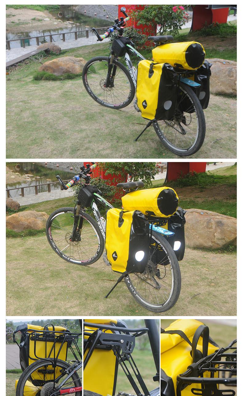 vodonepronicaemaja sumka shtany na bagazhnik velosipeda velobaul oqsport 20 - Водонепроницаемая сумка-штаны на багажник велосипеда (велобаул) OQsport: двойная и одинарная (25 л) модели, IPX5
