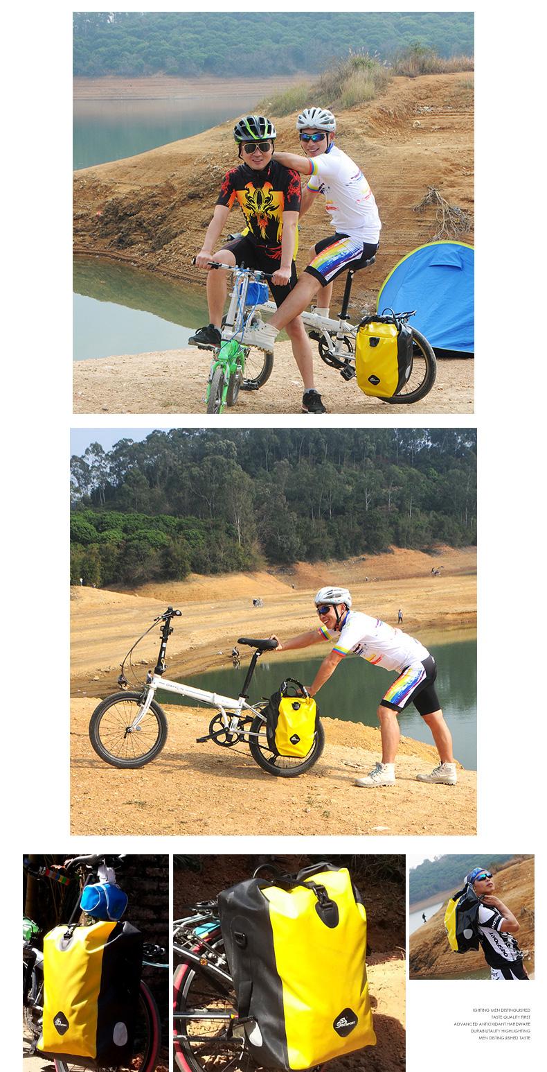 vodonepronicaemaja sumka shtany na bagazhnik velosipeda velobaul oqsport 23 - Водонепроницаемая сумка-штаны на багажник велосипеда (велобаул) OQsport: двойная и одинарная (25 л) модели, IPX5