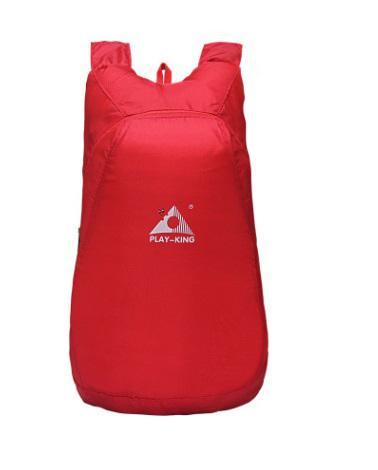 Ультралегкий складной рюкзак PLAY-KING 20 л – в сложенном виде помещается в кулаке, 75г, водоотталкивающий полиэстер