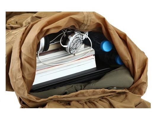 kamufljazhnyj turisticheskij rjukzak lucky gourd 70l 100l 34 - Камуфляжный туристический рюкзак Lucky Gourd 70л/ 100л: алюминиевая рама, водонепроницаемая ткань Оксфорд 900 ден