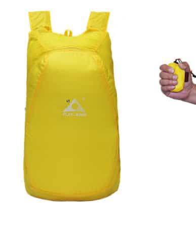 ultralegkij skladnoj rjukzak play king 20 l 01 - Ультралегкий складной рюкзак PLAY-KING 17,4 л - в сложенном виде помещается в кулаке, 75г, водоотталкивающий полиэстер