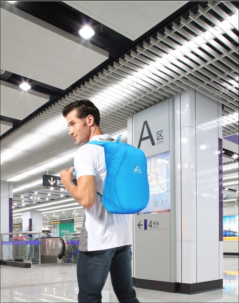 Ультралегкий складной рюкзак PLAY-KING 17,4 л