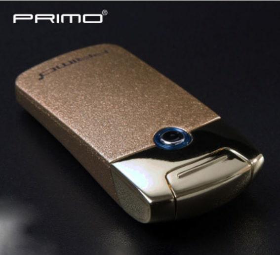 1 - Плазменная электроимпульсная USB-зажигалка Futura Primo: цинковый сплав, ветрозащита