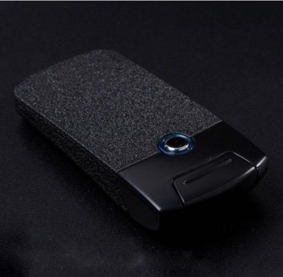 3 - Плазменная электроимпульсная USB-зажигалка Futura Primo: цинковый сплав, ветрозащита