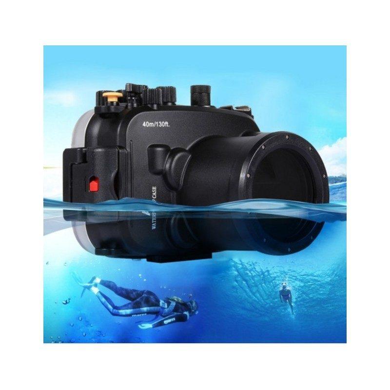 Водонепроницаемый корпус/ подводный чехол/ аквабокс  PULUZ для камеры Sony RX100 III (прозрачный)