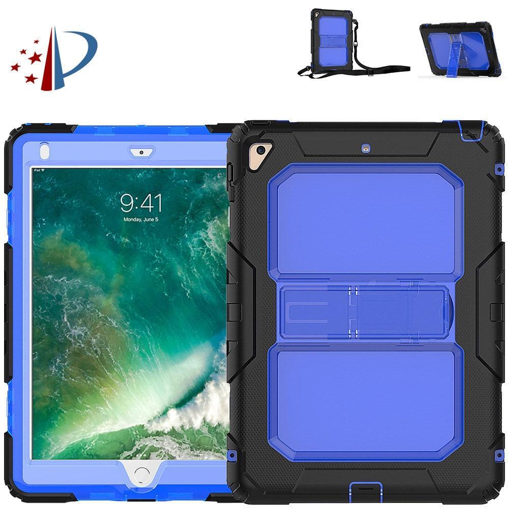 Противоударный чехол для планшетов iPad, Samsung Galaxy Tab: защитная конструкция 3 в 1 (корпус+экран), встроенная подставка 216850