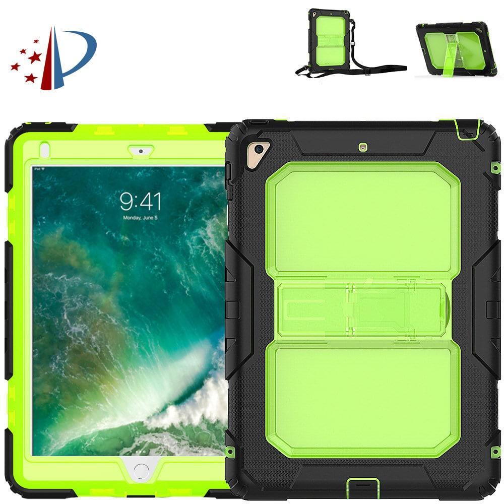 Противоударный чехол для планшетов iPad, Samsung Galaxy Tab: защитная конструкция 3 в 1 (корпус+экран), встроенная подставка 216851