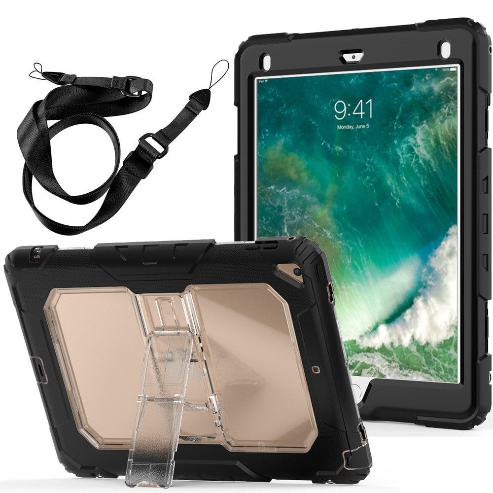 Противоударный чехол для планшетов iPad, Samsung Galaxy Tab: защитная конструкция 3 в 1 (корпус+экран), встроенная подставка 216855