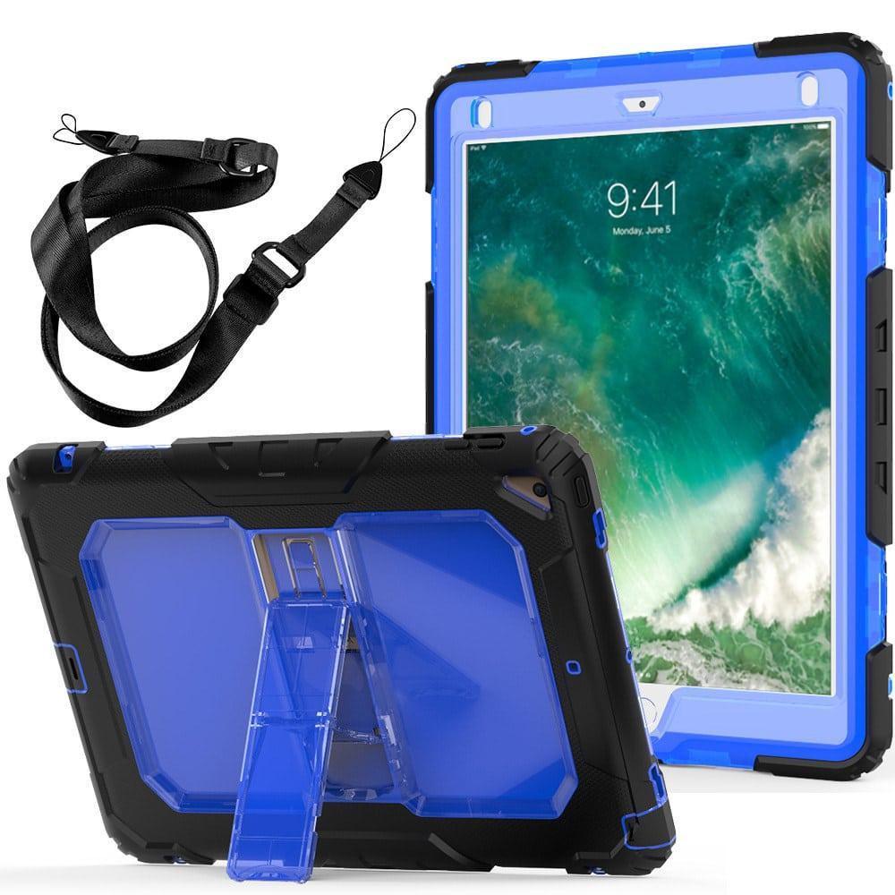 Противоударный чехол для планшетов iPad, Samsung Galaxy Tab: защитная конструкция 3 в 1 (корпус+экран), встроенная подставка 216858