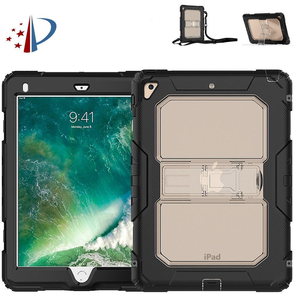 Противоударный чехол для планшетов iPad, Samsung Galaxy Tab: защитная конструкция 3 в 1 (корпус+экран), встроенная подставка 216859