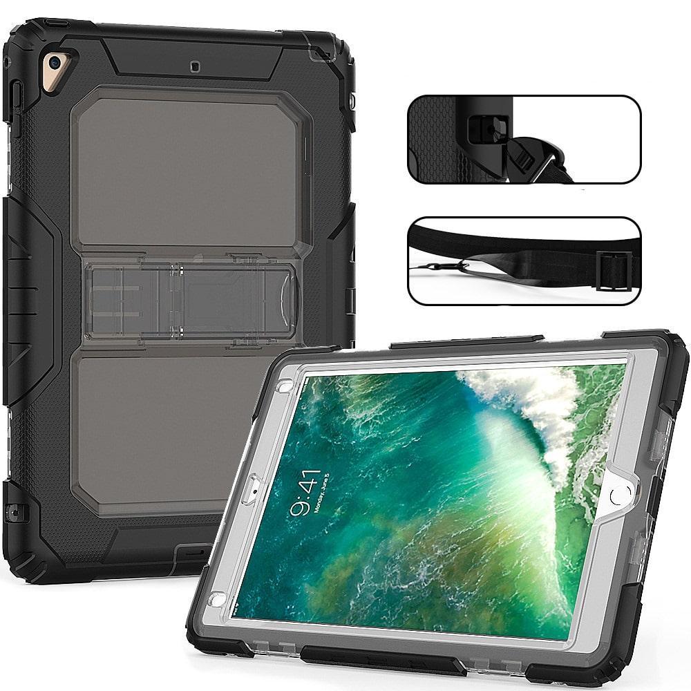 Противоударный чехол для планшетов iPad, Samsung Galaxy Tab: защитная конструкция 3 в 1 (корпус+экран), встроенная подставка 216860
