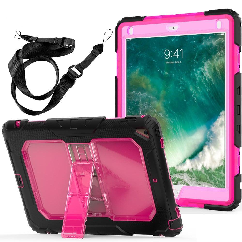 Противоударный чехол для планшетов iPad, Samsung Galaxy Tab: защитная конструкция 3 в 1 (корпус+экран), встроенная подставка 216862