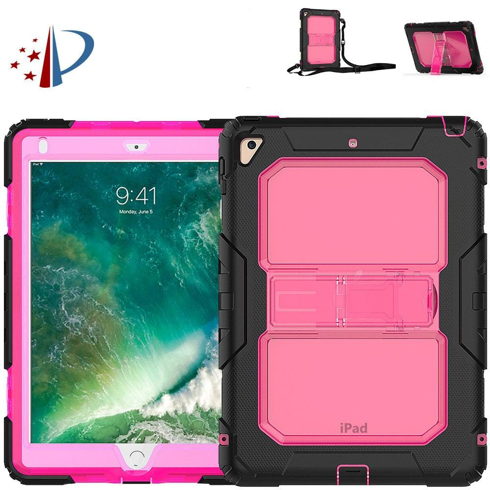 Противоударный чехол для планшетов iPad, Samsung Galaxy Tab: защитная конструкция 3 в 1 (корпус+экран), встроенная подставка 216865