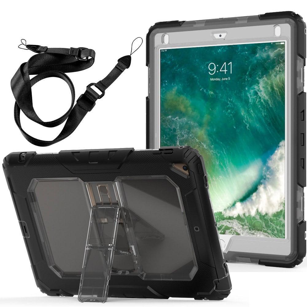 Противоударный чехол для планшетов iPad, Samsung Galaxy Tab: защитная конструкция 3 в 1 (корпус+экран), встроенная подставка 216867