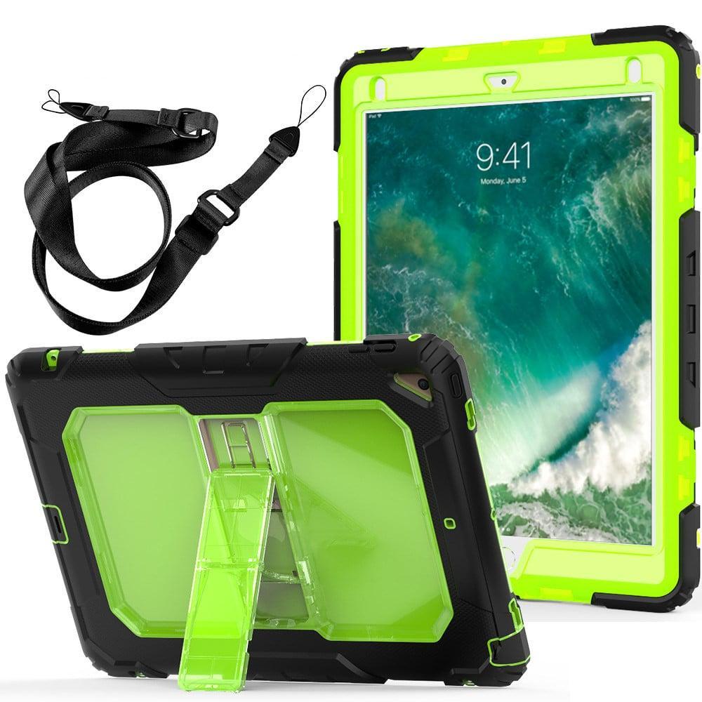 Противоударный чехол для планшетов iPad, Samsung Galaxy Tab: защитная конструкция 3 в 1 (корпус+экран), встроенная подставка 216869