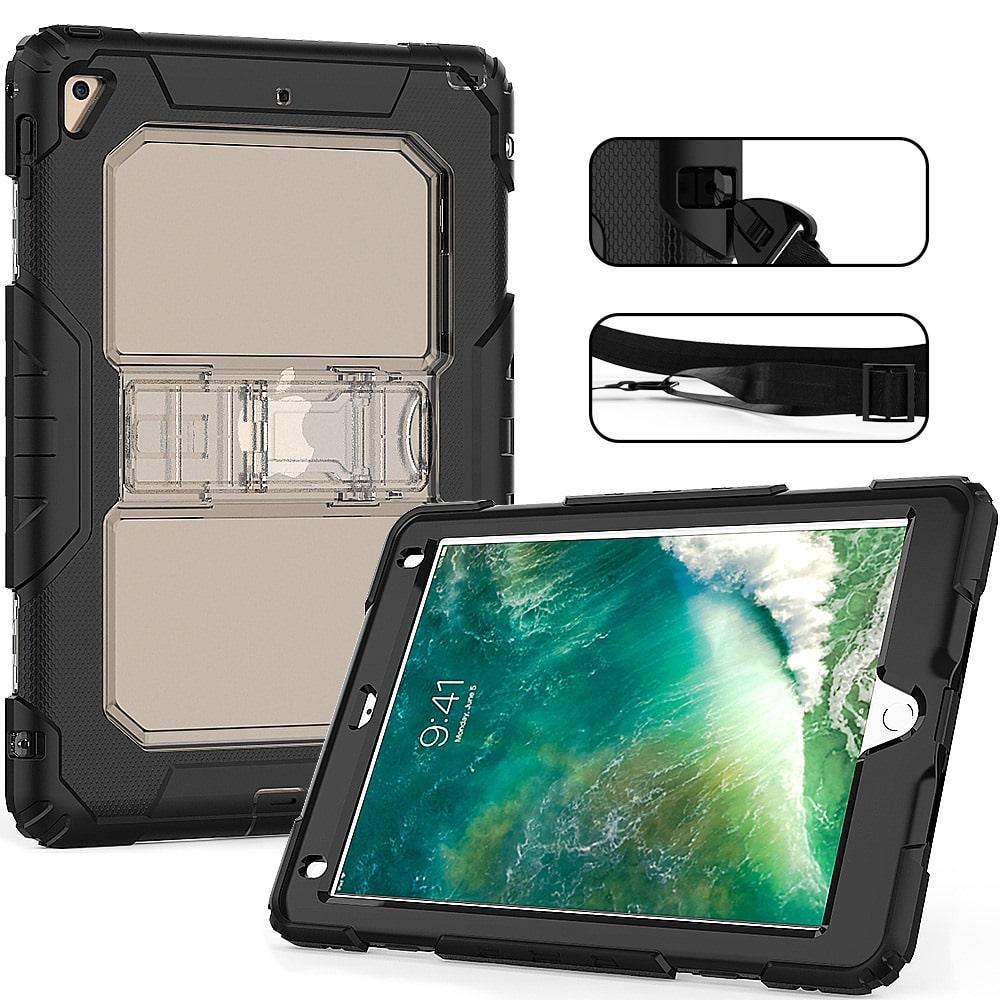 Противоударный чехол для планшетов iPad, Samsung Galaxy Tab: защитная конструкция 3 в 1 (корпус+экран), встроенная подставка 216873