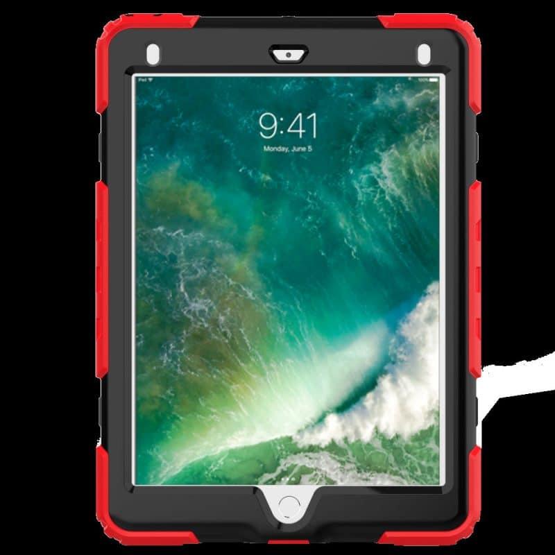 Противоударный чехол для планшетов iPad, Samsung Galaxy Tab: защитная конструкция 3 в 1 (корпус+экран), встроенная подставка