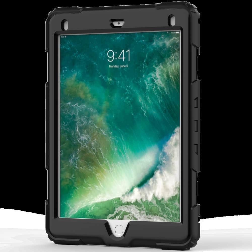 Противоударный чехол для планшетов iPad, Samsung Galaxy Tab: защитная конструкция 3 в 1 (корпус+экран), встроенная подставка 216878
