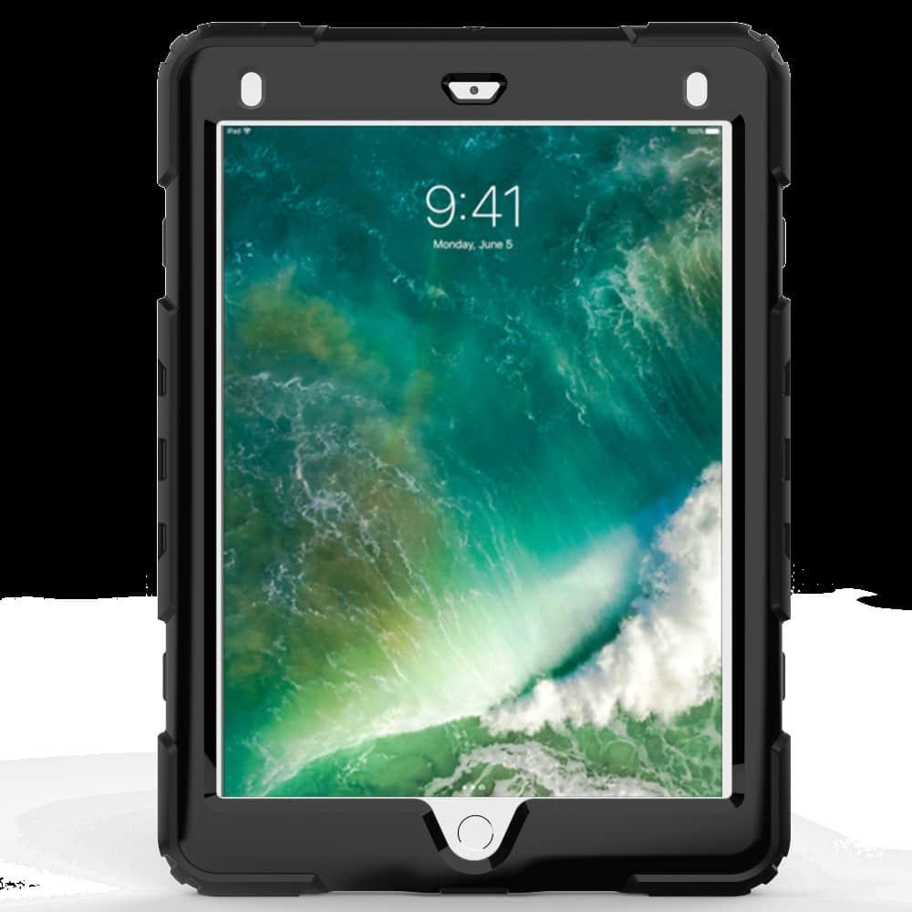 Противоударный чехол для планшетов iPad, Samsung Galaxy Tab: защитная конструкция 3 в 1 (корпус+экран), встроенная подставка 216881