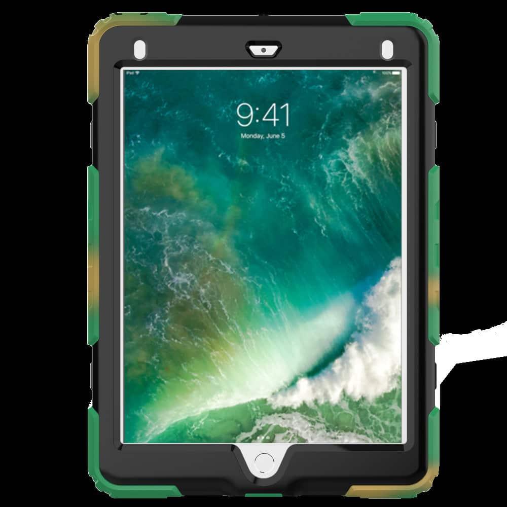 Противоударный чехол для планшетов iPad, Samsung Galaxy Tab: защитная конструкция 3 в 1 (корпус+экран), встроенная подставка 216882