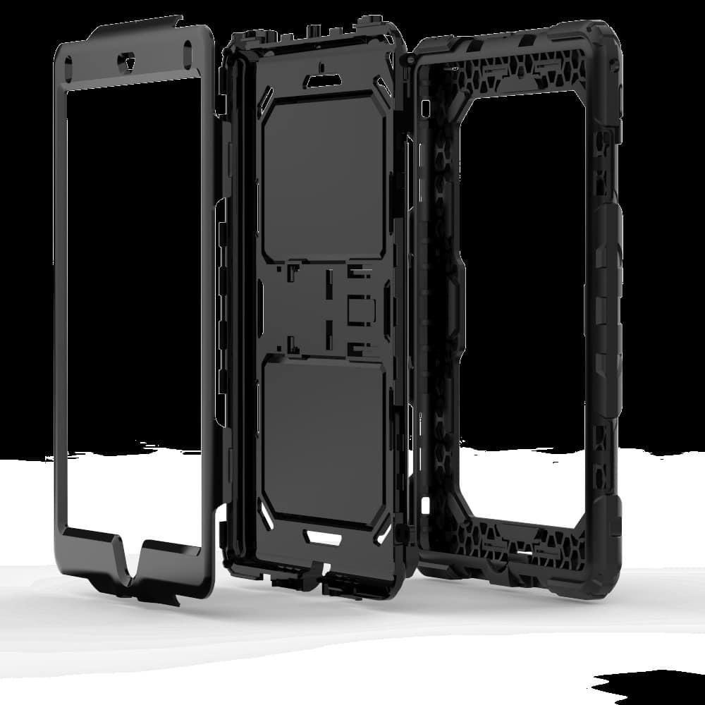 Противоударный чехол для планшетов iPad, Samsung Galaxy Tab: защитная конструкция 3 в 1 (корпус+экран), встроенная подставка 216884