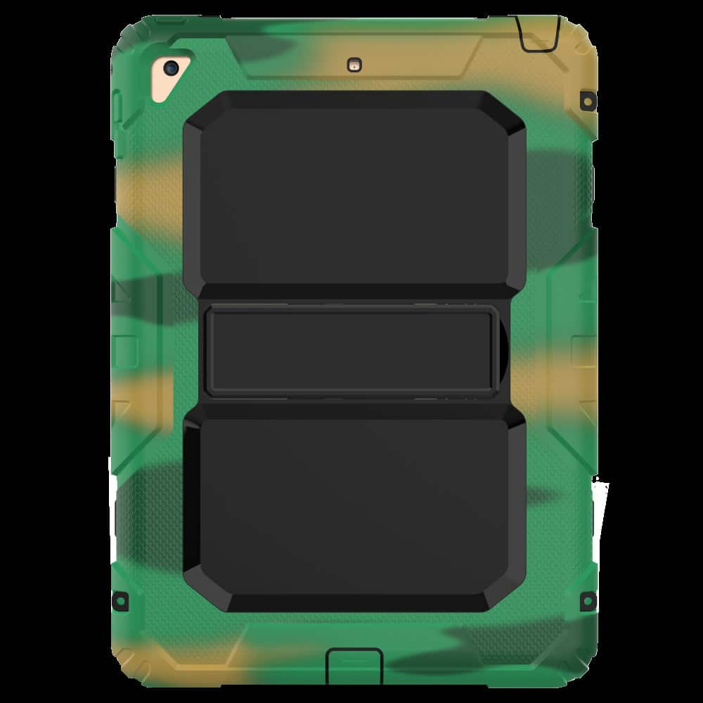 Противоударный чехол для планшетов iPad, Samsung Galaxy Tab: защитная конструкция 3 в 1 (корпус+экран), встроенная подставка 216886