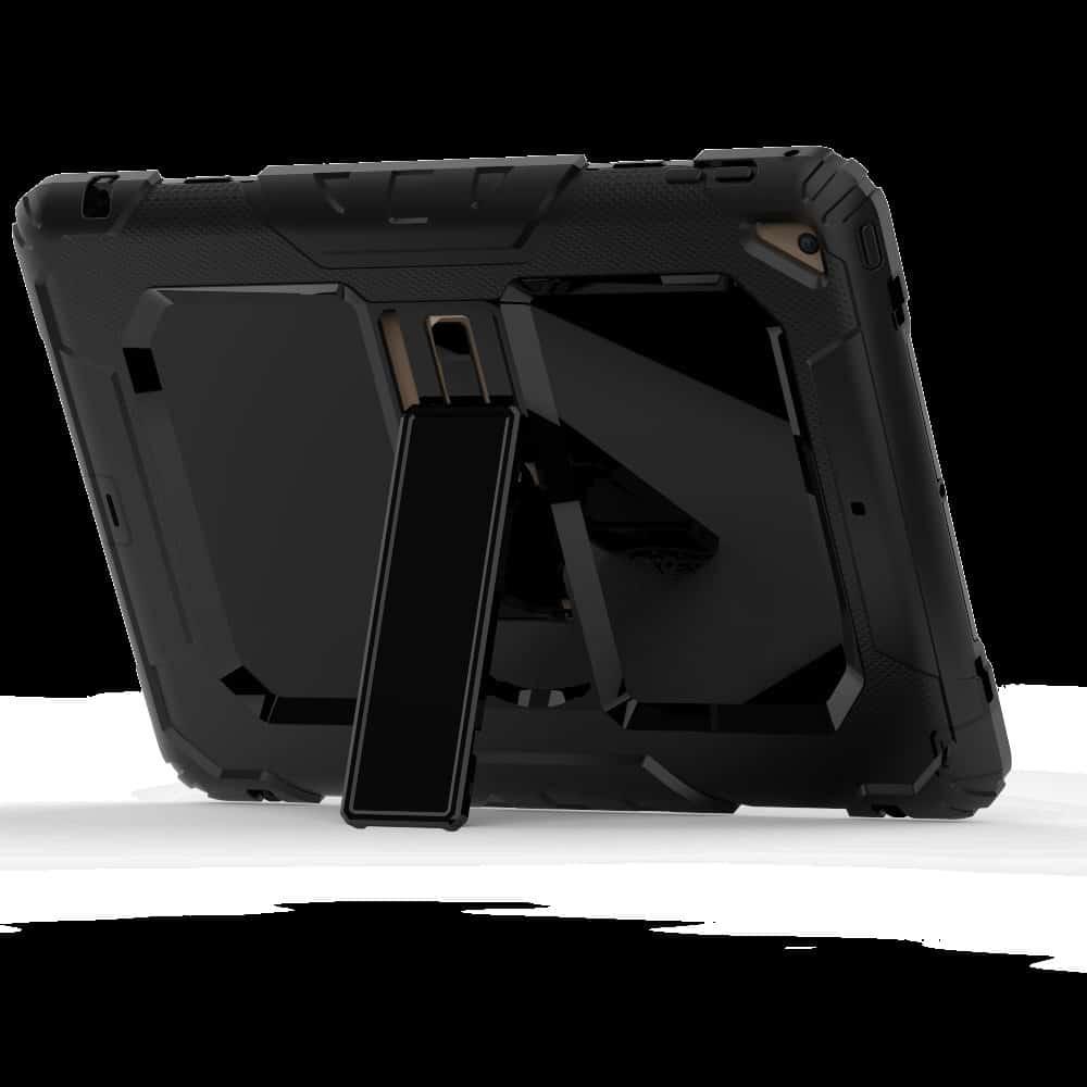 Противоударный чехол для планшетов iPad, Samsung Galaxy Tab: защитная конструкция 3 в 1 (корпус+экран), встроенная подставка 216888