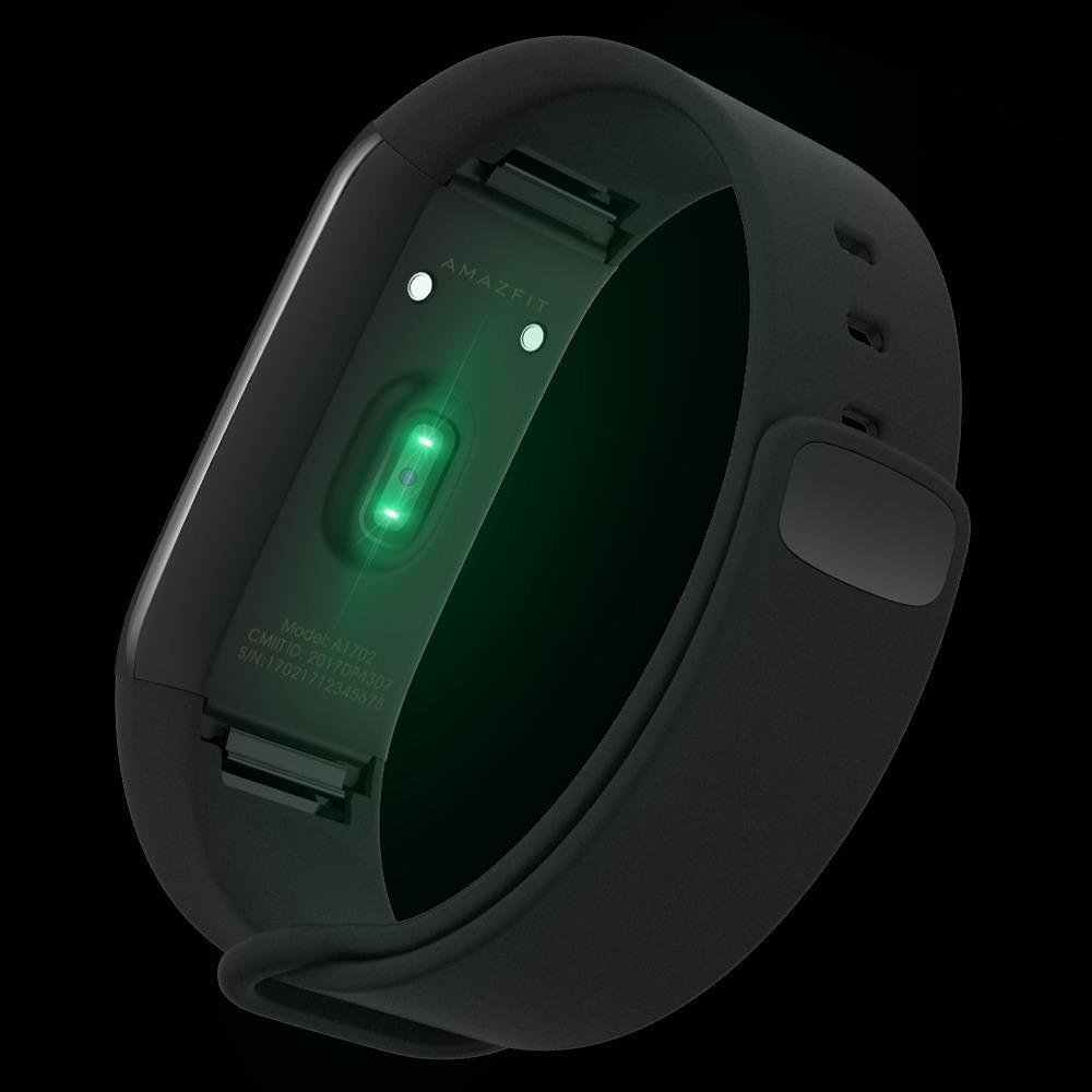 Фитнес-браслет Amazfit Cor: пульсометр, до 50 м под водой, 2.5D Corning Gorilla Glass, 12 дней без зарядки, iOS/ Android 218080