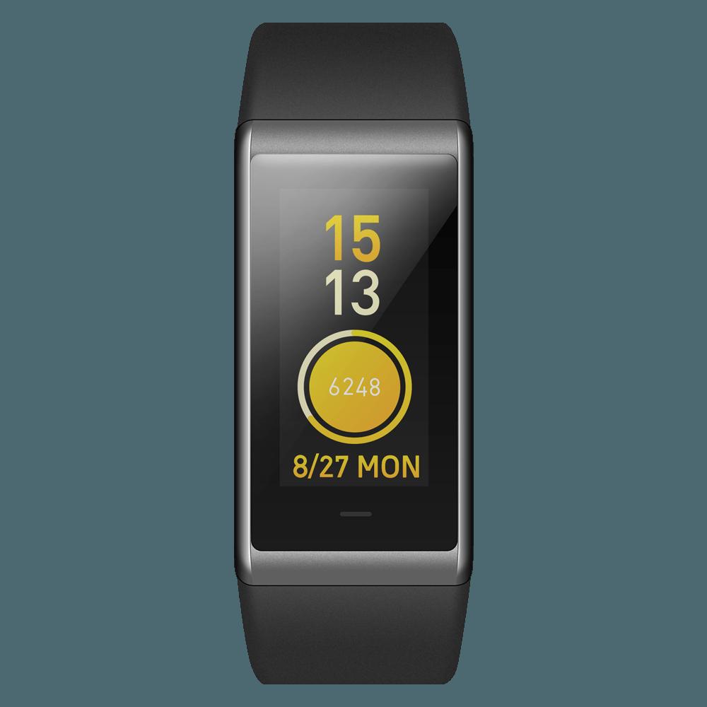 Фитнес-браслет Amazfit Cor: пульсометр, до 50 м под водой, 2.5D Corning Gorilla Glass, 12 дней без зарядки, iOS/ Android 218081