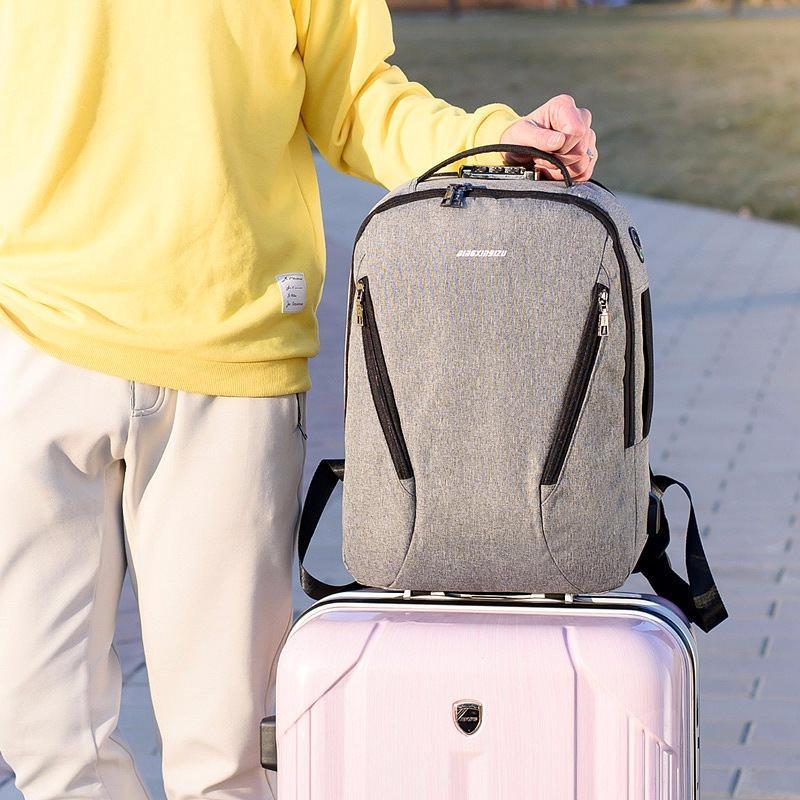 Городской USB-рюкзак со встроенным USB-портом и кодовым замком New Era 218039