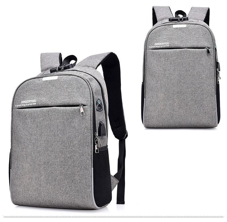 umnyj usb rjukzak s zashhitoj ot vorov bobby d 822 10 - Умный USB-рюкзак Bobby D-822 (встроенный USB-порт)