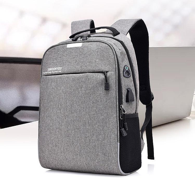 umnyj usb rjukzak s zashhitoj ot vorov bobby d 822 29 - Умный USB-рюкзак Bobby D-822 (встроенный USB-порт)