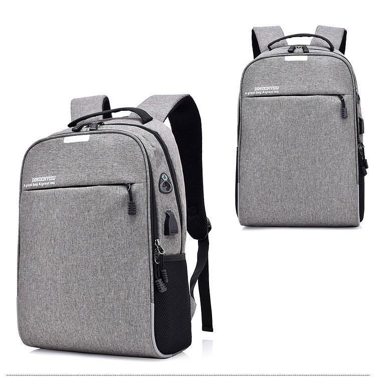 Умный USB-рюкзак Bobby D-822 (встроенный USB-порт) 217642