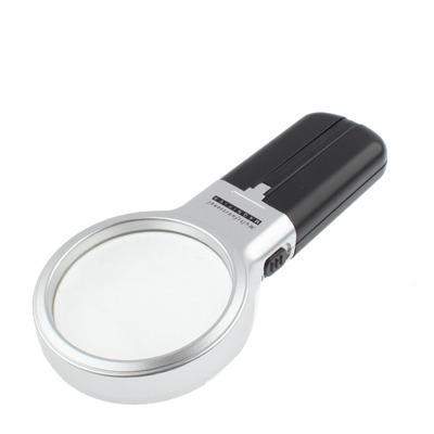 karmannaja lupa s podsvetkoj uvelichitel 3h 6h 03 - Цифровая лупа с подсветкой: увеличитель 3х, держатель для стола, 2 светодиода
