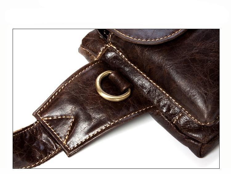 muzhskaja pojasnaja sumka mantime lemme iz naturalnoj kozhi 18 - Мужская поясная сумка ManTime Lemme из натуральной кожи