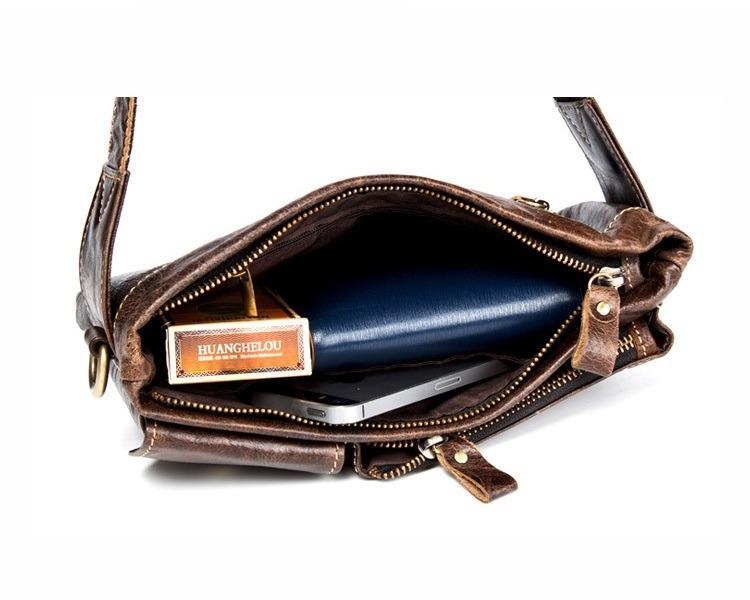 muzhskaja pojasnaja sumka mantime lemme iz naturalnoj kozhi 24 - Мужская поясная сумка ManTime Lemme из натуральной кожи