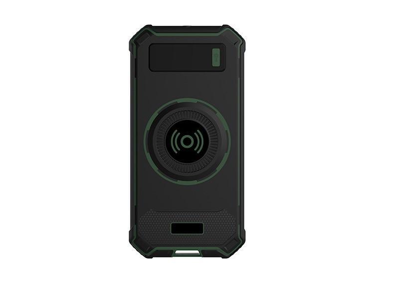 besprovodnaja qi zarjadka s funkciej paver banka 10000 mach 16 - Беспроводная Qi зарядка с функцией павер-банка 10000 мАч: 2 х USB (2А), Micro USB вход 2А